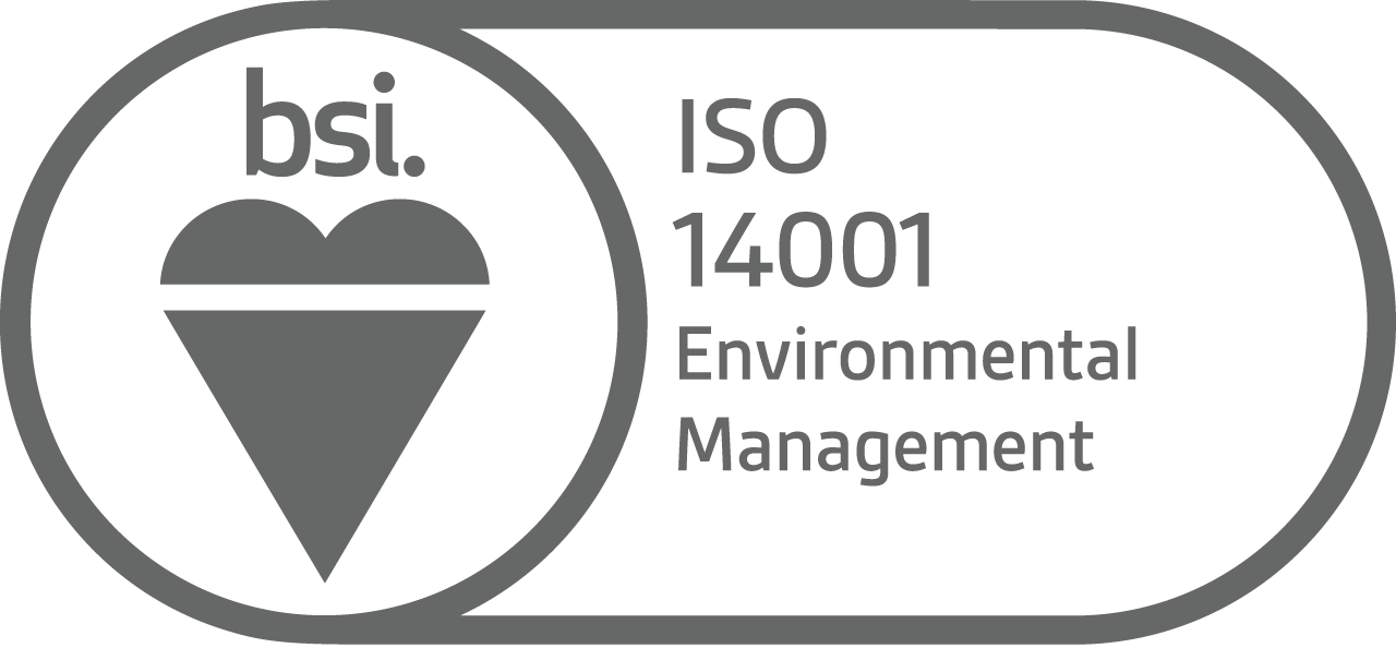 BSI ISO 14001 Environmental Management logo