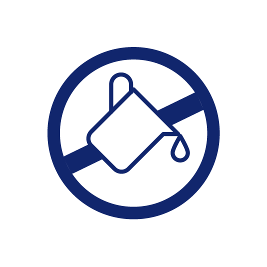 Inhibitor paint icon