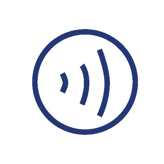 Blue RFI logo